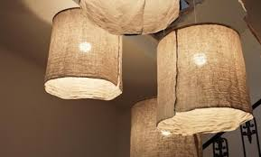 Make Your Own Italian Style Rustic Linen Lamp