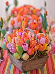 Spring 30 Vivid DIY Easter Table Centerpieces
