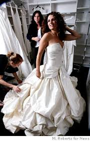 wedding gown sale is for richer and poorer ny daily news