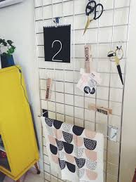 Trendy Inspiration Metal Grid Wall Display Wallpaper Organizer Panel Rack System Storage Trellis 35