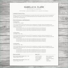 100 Great Looking Resumes Resume Templates Best Professional Resume Template