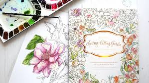 NEW Painterly Days Watercolor Coloring Book GIVEAWAY Kwernerdesign Blog