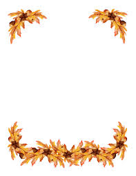 Free Borders Autumn Clipart