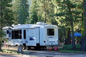 Photo Of RV Camping In The Woods