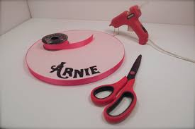 How To Add Ribbon To A Cake Board the Krazy Kool Cakes Way