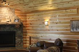 Armstrong Woodhaven Ceiling Planks by Check Out This Great Interior Siding Using Our Channel Rustic And