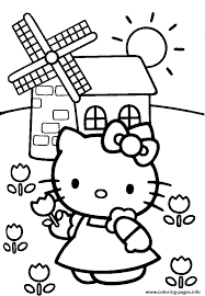 Spring Hello Kitty Colouring Pages To Colour19b2 Coloring Pages