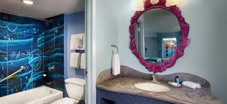 disney world themed hotel rooms royal cars little mermaid