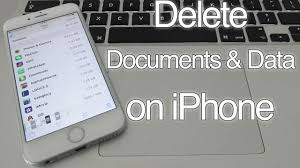 How to Delete Documents and Data on iPhone 7 6S 6 SE 5S 5C 5 iPad