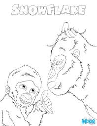 Frozen Snowflake Coloring Pages For Kindergarten Free Printing Page Preschoolers