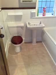 Installing Laminate Floors In Kitchen by Modest Laminate Flooring In The Bathroom With Bathroom Installing