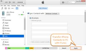 How to Transfer Contacts from iPhone to PC with without iTunes
