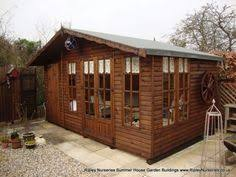12x8 ultimate summerhouse with rear storage buy sheds direct uk