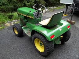 John Deere Stx38 Yellow Deck Removal by Picked Up This 1971 112 With Hydraulic Lift Mytractorforum Com