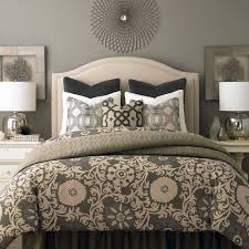 Vaughan Bassett Reflections Dresser by Vienna Upholstered Headboard By Bassett Furniture Beds
