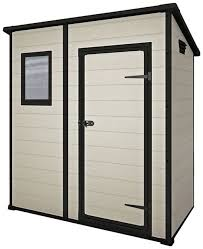 Keter Woodland Lean To Storage Shed by Keter Manor Outdoor Plastic Garden Storage Shed Ebay