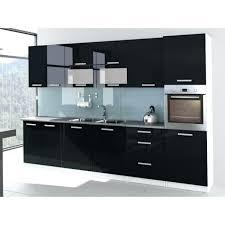 meuble haut cuisine laqué meuble cuisine laque noir cuisine complate cuisine complate