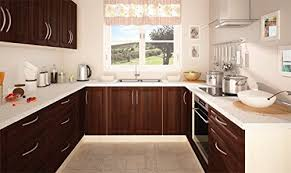 küchenzeile küchenblock u form 161313 jersey nussbaum