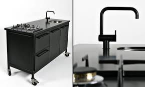 cuisine sur roulettes cuisine mobile design