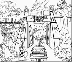 Brilliant Jurassic World Dinosaurs Coloring Pages Printable With For Older Kids And Spectacular