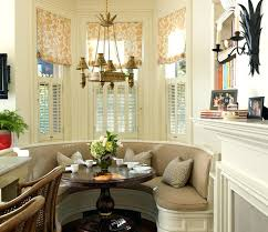 Dining Table Banquette Seating Stylish And Comfy Room With Bench Small Idea