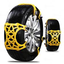 Zone Tech Car Snow Chains - Strong Durable All Season Anti-Skid Car ...
