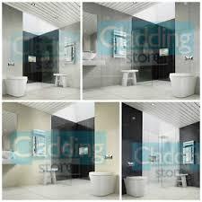 multi tile effect plastic pvc shower panel wall bathroom