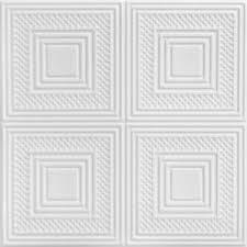 Foam Glue Up Ceiling Tiles by A La Maison Ceilings Nested Squares 1 6 Ft X 1 6 Ft Foam Glue Up