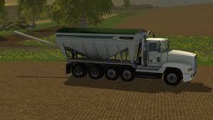 100 Fertilizer Truck FREIGHTLINER TENDER TRUCK V1 Farming Simulator 19 17 15 Mods