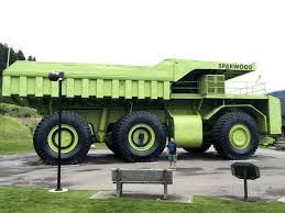 World Largest Truck, Sparwood, British Columbia - On Our Way To...