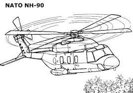 Kids Coloring Pages Helicopterprintablecoloring