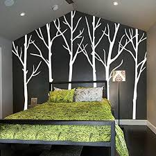 Winter Tree Wall Decals Stickers Living Room Six
