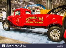 A 1936 Antique Tow Truck Hot Rod From The Wally Parks NHRA Museum At ...