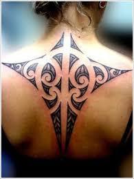Maori Tribal Tattoo Designs For Girl On Back
