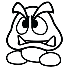 Super Sticker Star Coloring Pages Mario Bros Free Printable Baby Characters Full Size
