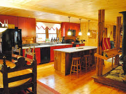 Log Cabin Kitchen Island Ideas by Log Home Kitchen Islands Remarkable Home Design