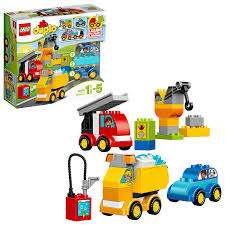 LEGO Duplo My First Cars And Trucks Vehicles Crane Multi-Coloured ...