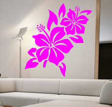 Room Hibiscus Flower Wall