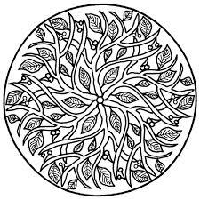 Realistic Mandala Coloring Page Colouring Pinterest