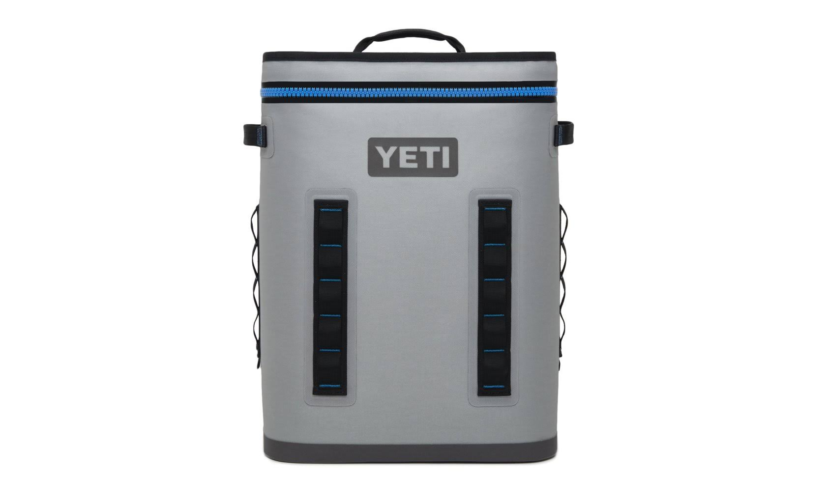 Yeti 18060130007 Hopper BackFlip Cooler Backpack - Fog Gray, 24L