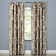tile medallion curtain panel gray stone threshold target