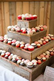 Diy Barn Wood Cupcake Stand Dessert Table Cakes And Such Within Rustic Wedding Cake Ideas