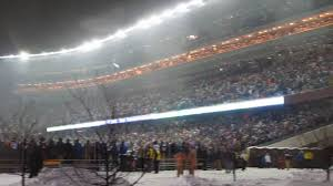 1991 Halloween Blizzard Pictures by Vikings Football Gophers Stadium In Minneapolis Blizzard Youtube