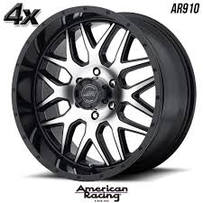 100 20 Inch Truck Rims 4 American Racing AR910 X9 6x13970 Gloss Black OFST0mm