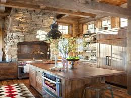 Save Rustic Italian Style Kitchens With Beams Picture