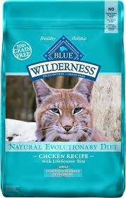 high protein cat food blue buffalo wilderness chicken recipe indoor hairball