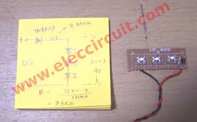 diy simple 12v led light electronic projects circuits
