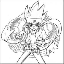 Beyblade Metal Fury L Drago Destructer Free Coloring Pages