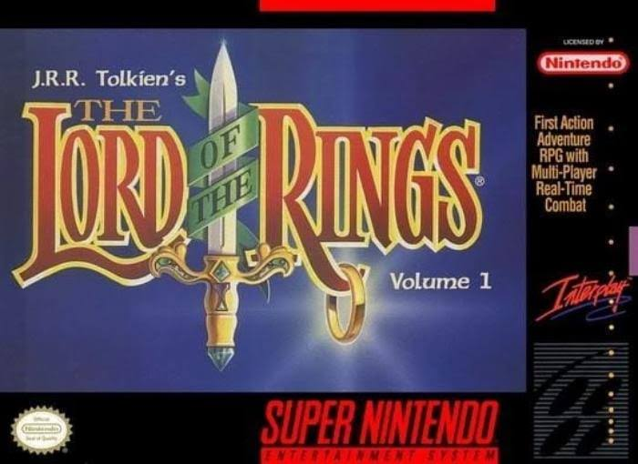 Tolkien's The Lord Of The Rings Vol 1 [Super Nintendo, 1994]