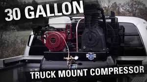Industrial Air - 30 Gallon Truck Mount 2-Stage Air Compressor - YouTube Amazoncom Viair 150 Psi Highflow Air Source Kit Automotive Truck Mounted Geotechnical Drilling Rig S200cm Stenuick Rolair 13grhk30 13 Hp Electricstart Honda 30 Gal Truckmount Used Compressor Puma Gas At Texas Center Serving Gallon Twostage Mount Princess Auto Welding Trailer With Montezuma Tool Box Rki Air New Utility Compressors Vanair Bagged Mini Truck Tank And Compressor Mount Youtube Fire Partskussmaul Pump 12v High Pssure Horizontal China 424 Cfm 7 Bar Ming Prices Portable Skid Mounted Diesel Time For A Classic Image Uhl2700 Earthmover Tyre Handler